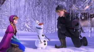Frozen cast Olaf Disney photos