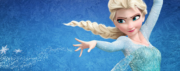 Frozen princess banner Elsa