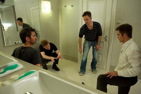 Kenneth Branagh directing Chris Pine Jack Ryan Shadow Recruit