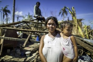 Adelfa is among hundreds of thousands of people facing a long road to recovery. photo Samaritan's Purse website