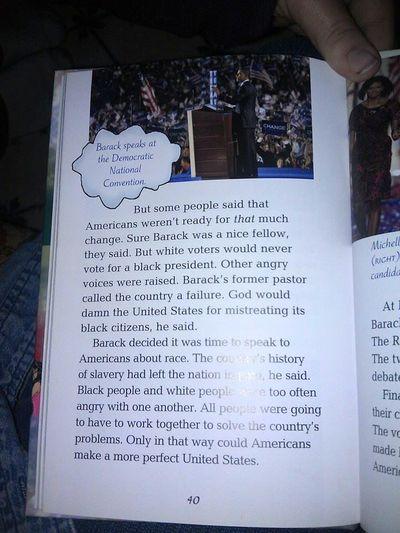 President Obama book white racist vote for him Common Core