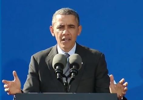 President Obama obamacare economy speech California