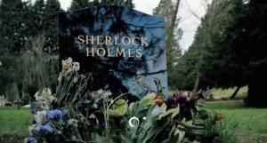 Sherlock Holmes tombstone Sherlock season 3 teaser