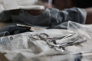 Surgical instruments Image/defenseimagery.mil.