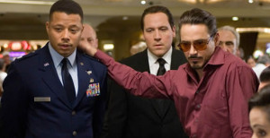 Terrence-Howard_Jon Favreau Robert Downey Jr Iron Man photo