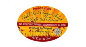 TRADER JOE'S Field Fresh Chopped Salad with Grilled Chicken Image/FDA