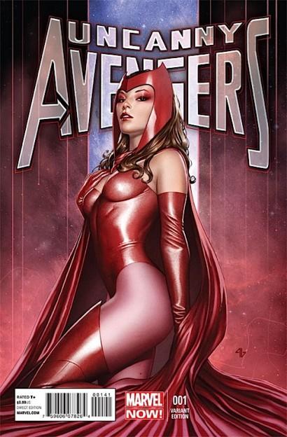 UncannyAvengers_1_VariantGranov Scarlet Witch sexy