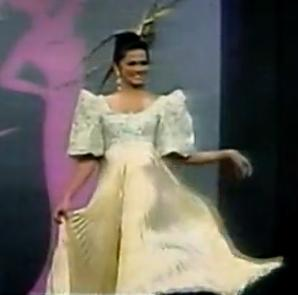 Ariella Arida National Costume Image/Video Screen Shot