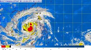 Yolanda satellite pic Image/PAGASA