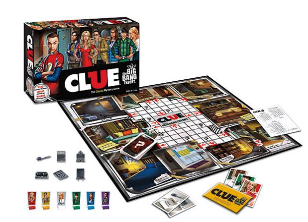 Big Bang Theory Clue