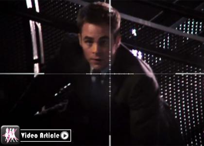 Chris Pine Jack Ryan target cross hairs