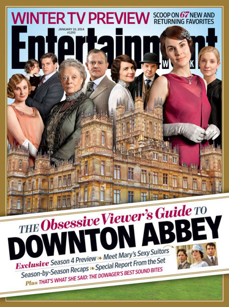 Downton Abbey season 4 EW cover