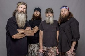 Duck Dynasty cast photo Phil Robertson Jase Si