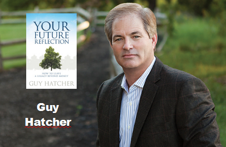 Guy Hatcher photo with book