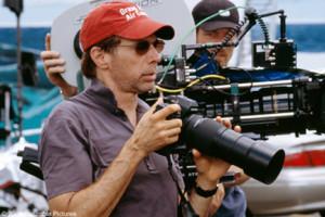 Jerry Bruckheimer set photo Bad Boys 2