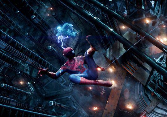 Spiderman vs Electro Amazing Spider-Man 2 photo