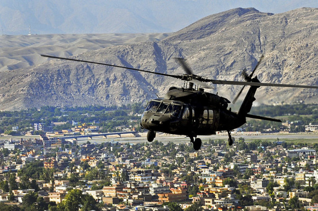 US Black Hawk helicopter DoD photo by Capt. Peter Smedberg, U.S. Army. (Released)