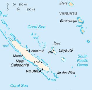 New Caledonia Image/CIA