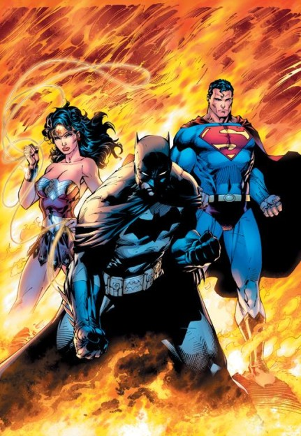 Worlds Finest photo Wonder Woman Batman Superman