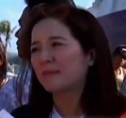 Kris Aquino in Tacloban Image/Video Screen Shot