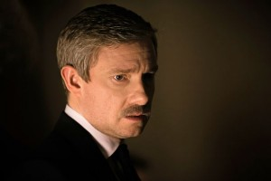 "Martin Freeman on returning to production of a new ""Sherlock"""