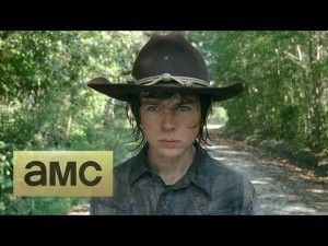 Chandler Riggs The Walking Dead photo