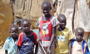 children in South Sudan