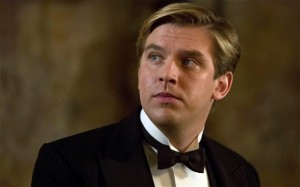 Dan Stevens Downton Abbey photo
