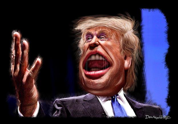 Donald Trump donkeyhotey