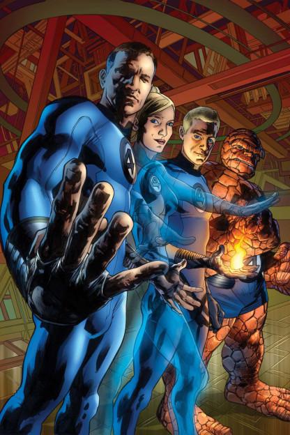 Fantastic Four_Ultimate Marvel Comics team photo