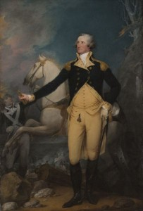 """General George Washington at Trenton."" Courtesy of the Yale University Art Gallery, Yale University, New Haven, Conn. Gift of the Society of Cincinnati in Connecticut. 1792 by John Trumbull"