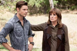 Josh Henderson Linda Gray Dallas season 3 photo