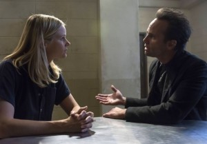 Justified-walton-goggins-joelle-carter season 5 photo