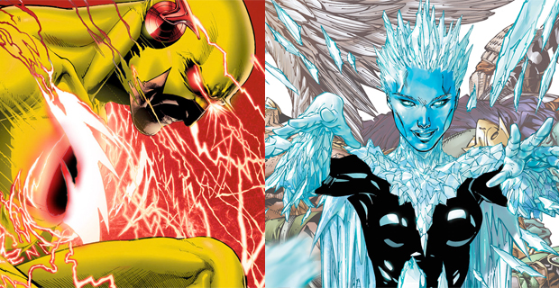 Reverse-Flash-and-Killer-Frost-DC Comics photo