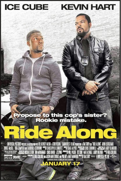 Ride Along movie poster Kevin Hart Ice Cube