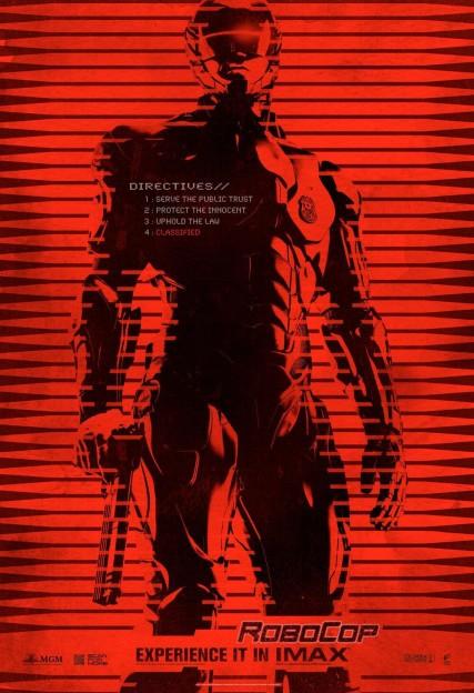 RoboCop reboot remake IMAX movie poster