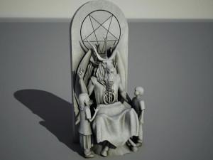 Satanic monument Oklahoma