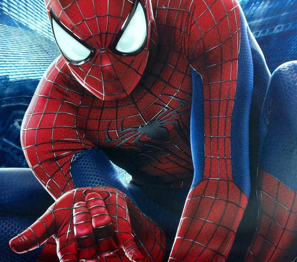 Spider-Man shooting web  Amazing Spider-Man 2 photo