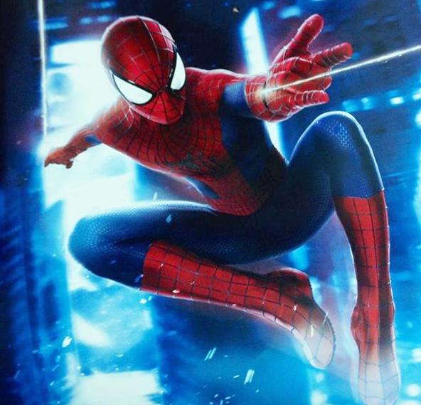 Spider-Man swinging action Amazing Spider-Man 2 photo