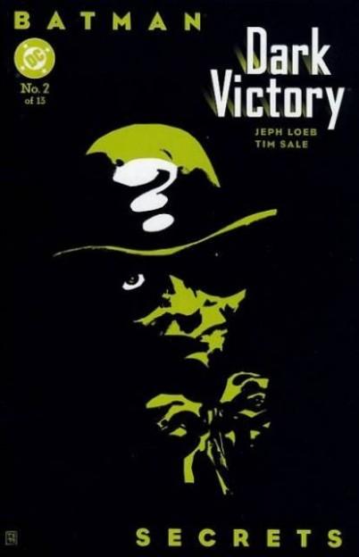Batman Dark Victory 2 riddler cover