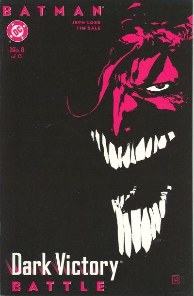 Batman_Dark_Victory_8 Joker Cover