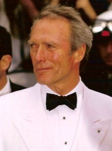 Clint Eastwood at the Cannes film festival 1994 photo by Georges Biard