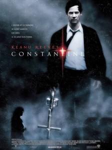 Constantine Keanu Reeves movie poster