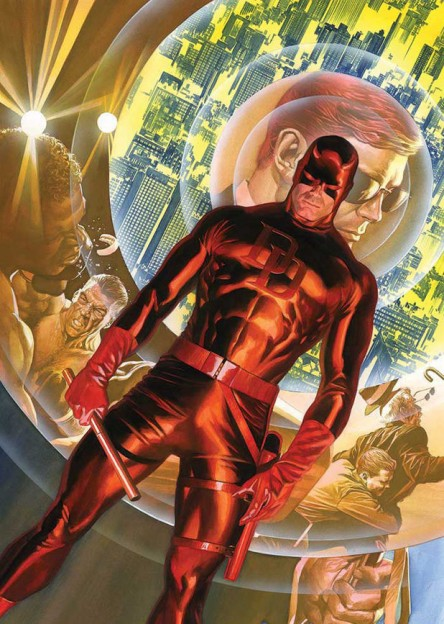 Daredevil Alex Ross Marvel comics cover