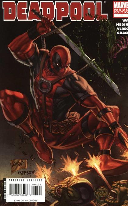Deadpool Vol 2 1 Liefeld Variant Liefeld Variant vs Skrulls