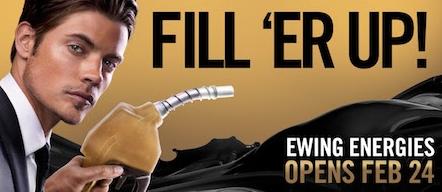 Josh Henderson Dallas season 3 gas station ad