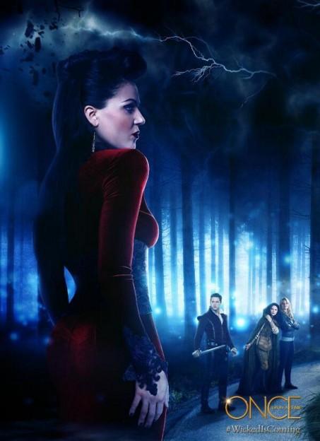 Lara Parilla Once Upon a Time season 3 poster