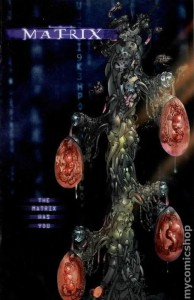 Matrix comic book preview 1999