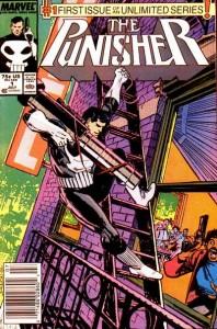 Punisher comic book #1 Marvel