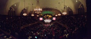 Interior of The Moody Church